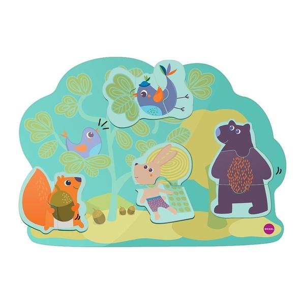 【新加坡Oribel-Vertiplay】創意壁貼玩具-Hoppy Bunny &Friends 兔兔與朋友們 #OR800