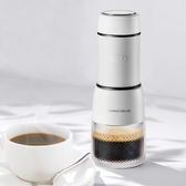 咖啡機膠囊咖啡機家用小型手壓宿舍迷你意式濃縮奶泡現磨便攜辦公室LX春季新品