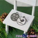 【Fulgor Jewel】富狗名牌 客製化防走失 設計款小鳥 西德鋼 寵物吊牌 狗牌 姓名牌 免費鐳射刻字