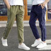 男童褲子夏兒童防蚊褲薄款中大童長褲寬鬆新款男孩運動褲外穿洋氣 Korea時尚記