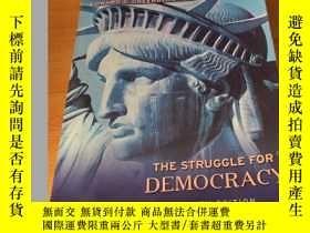 二手書博民逛書店THE罕見STRUGGLE FOR DEMOCRACY NINT