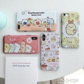 日系角落生物可愛少女iPhoneXS Max/XR手機殼蘋果8plus/7p軟殼6sp-ifashion