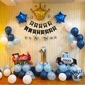 兒童生日氣球裝飾場景布置寶寶男孩派對卡通工程【古怪舍】
