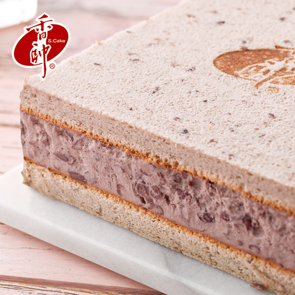 【香帥蛋糕】全新登場→紅豆冰磚 6 吋 含運$499