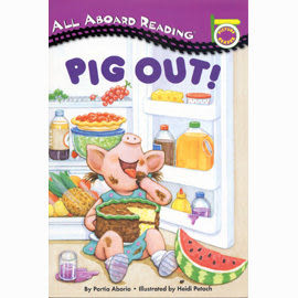 All Aboard Reading系列:PIG OUT