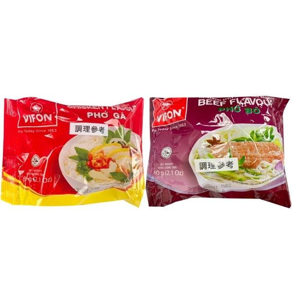 VIFON 越南河粉 雞肉味/牛肉味 (60g) 【小三美日】泡麵/進口/ 團購