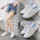 小白鞋女夏季2018新款百搭女鞋韓版學生跑步平底鞋休閑運動鞋單鞋
