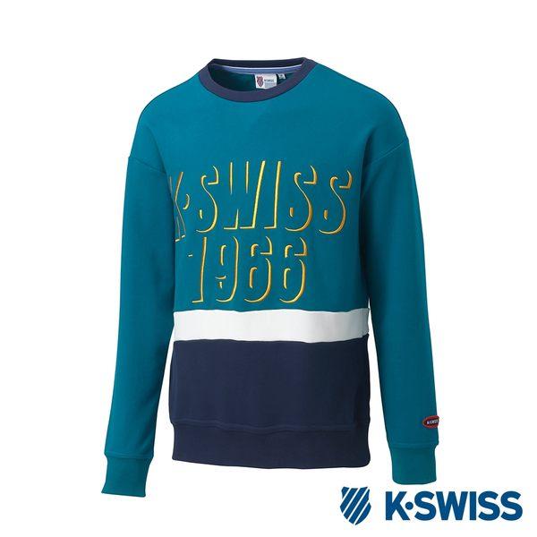 K-Swiss Round Sweat Shirts圓領長袖上衣-