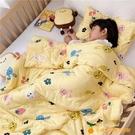 兒童被子棉被幼兒園午睡嬰兒空調被夏季薄款寶寶春秋小蓋被夏涼被【小橘子】