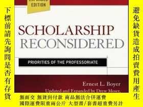 二手書博民逛書店Scholarship罕見Reconsidered: Priorities of the Professoriat
