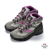 TRAVEL FOX(女) 休閒戶外登山鞋-粉色