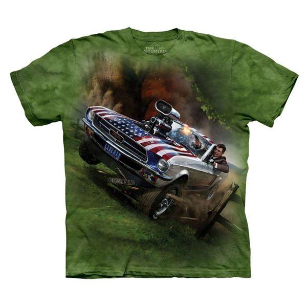 【摩達客】(預購)(大尺碼4XL、5XL)美國進口The Mountain 雷根救援 純棉環保短袖T恤(10416045097a)