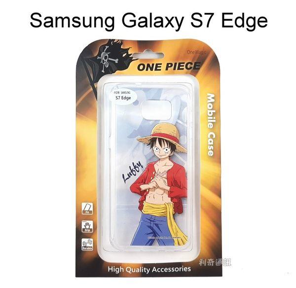海賊王透明軟殼 [人物] 魯夫 Samsung G935FD Galaxy S7 Edge 航海王【正版授權】