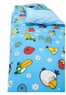 【貝淇小舖】 ~2013 台灣精製 【ANGRY BIRDS】憤怒鳥兩用鋪棉兒童睡袋~加大款