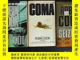 二手書博民逛書店Robin罕見Cook ——《 Seizure 》《 Coma
