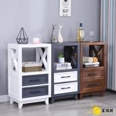 斗櫃 美式實木五簡約現代臥室床頭抽屜式收納櫃客廳北歐儲物櫃邊櫃