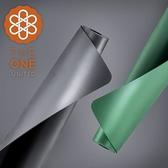 【The One】天然橡膠PU 極致止滑瑜珈墊 4.5mm(兩色任選)草綠
