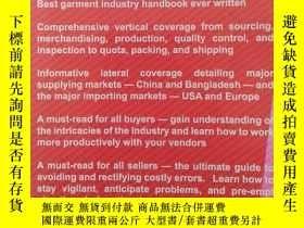 二手書博民逛書店Conway罕見Liu Garment Merchandising(服裝銷售)英文原版Y169804 Conw