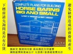 二手書博民逛書店Complete罕見Plans for Building Hor