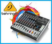 【小麥老師 樂器館】Behringer 耳朵牌 XENYX X1222USB 12軌 數位混音器 混音器