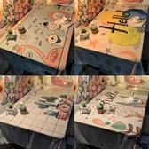 桌布防水防油免洗墊網紅北歐茶幾少女心宿舍餐桌布藝書桌ins學生 童趣屋