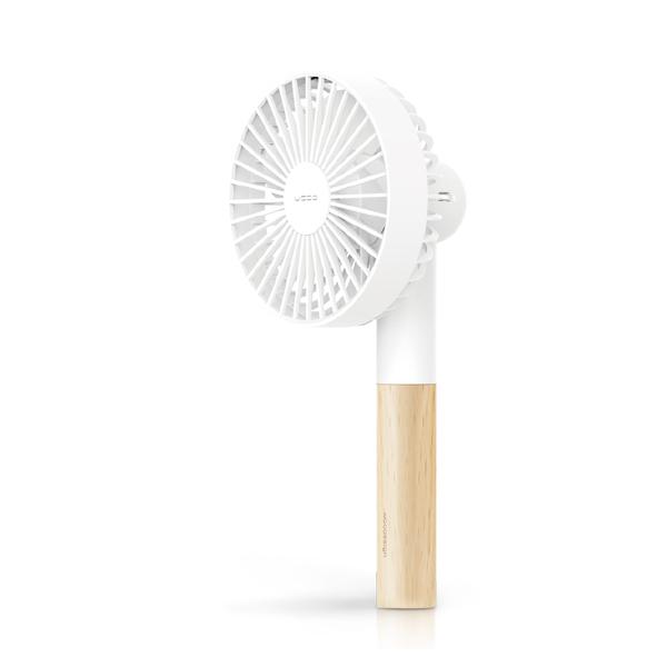 手持風扇 隨行手風扇 小風扇 可桌立 USB充電【S0071】PROBOX櫸木手持風扇 完美主義AC