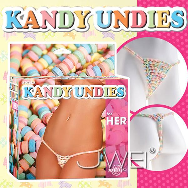 傳說情趣~美國原裝進口PIPEDREAM.EDIBLE KANDY UNDIES糖果丁字褲-for HER(女用)