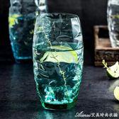 意大利進口家用耐熱彩色玻璃水杯飲料杯威士忌酒杯茶杯創意啤酒杯艾美時尚衣櫥