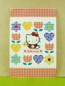 【震撼  】Hello Kitty 凱蒂貓 卡片格子金香