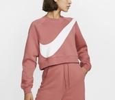 NIKE服飾系列-AS W NSW SWSH CREW FLC BB 女款短版上衣-NO.BV3934897
