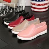 低筒淺口雨靴廚房防滑防水鞋膠鞋情侶水鞋