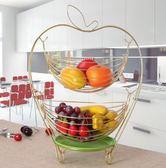 聖誕交換禮物-創意水果籃多功能糖果盒歐式果盤現代客廳裝飾時尚家用水果盤