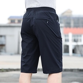 爸爸七分褲男士寬鬆外穿夏中年中老年加大速干短褲頭空調褲子5 幸福第一站