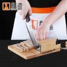阿膠糕專用切片機家用小型手動牛軋糖芝麻糖切塊切片年糕臘肉切刀WD 檸檬衣舍