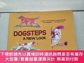二手書博民逛書店DOGSTEPS罕見A New Look 狗步新造型(外文原版)Y26171 By Rachel Page E