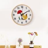 限定款挂钟掛鐘客廳現代簡約靜音日歷電子石英鐘表圓形家用大氣裝飾時鐘掛表