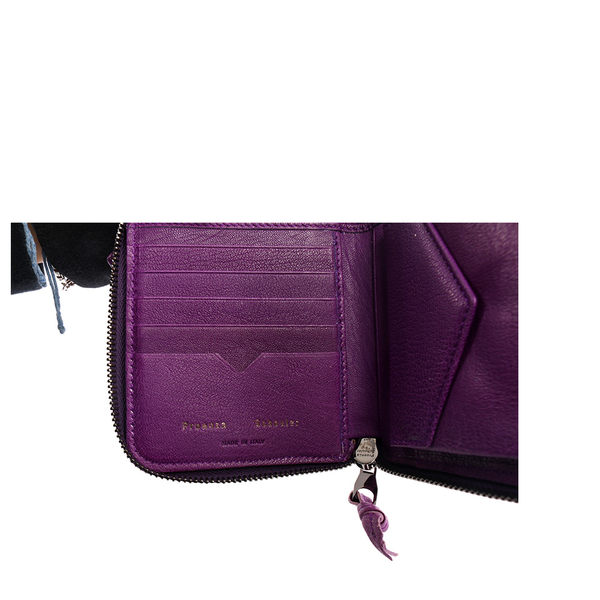 【PROENZA SCHOULER】小羊皮 短夾 (鳶尾紫 ) S00001 L001U 7018(OUTLET)