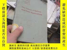 二手書博民逛書店the罕見theory of splines and their