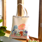 義大利Fancy Belle X Mandie Kuo《花園中的野餐》帆布購物袋