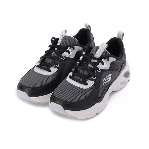 SKECHERS STAMINA AIRY 綁帶運動鞋 黑白 149622BKW 女鞋