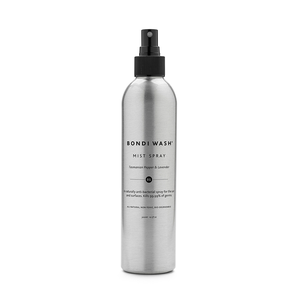 Bondi Wash Mist Spray Tasmanian Pepper & Lavender 300ml, 植萃防護噴霧 塔斯曼尼亞胡椒&薰衣草口味
