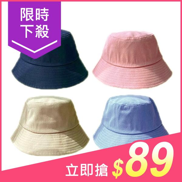 韓版簡約風漁夫帽/遮陽帽(1入) 顏色可選【小三美日】原價$159