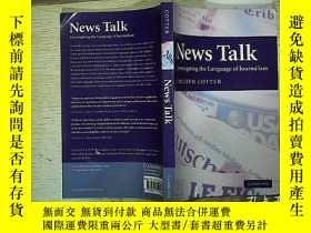 二手書博民逛書店News罕見Talk 16開本Y180897
