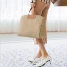 2019新款女手提包旅行包出差資料紙商務公文包時尚單肩斜挎托特包 LJ4927【極致男人】