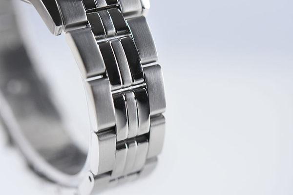 ORIENT 東方錶 SLIM系列 優雅數字藍寶石鏡面石英錶 女生鋼帶款 FUNG7003B 黑色 - 32mm