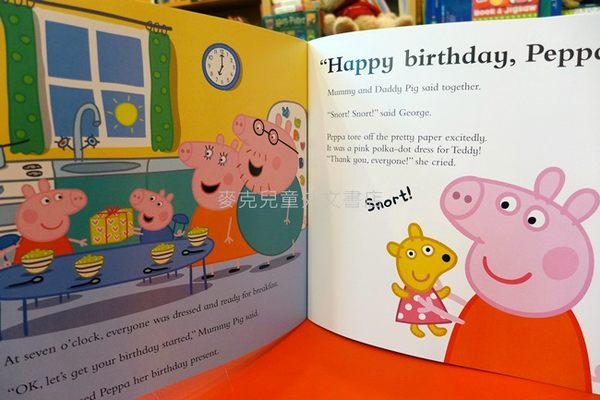 【麥克書店】 HAPPY BIRTHDAY PEPPA *粉紅豬小妹系列繪本*