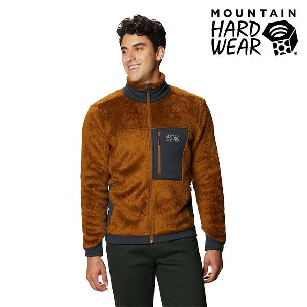 [好也戶外]Mountain Hardwear|Monkey Fleece™ Jacket 男保暖刷毛立領外套 金棕/黑