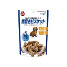 (即期良品2020/10/31)寵物家族-MARUKAN 骨型牛奶潔牙餅200g MK-DF-220