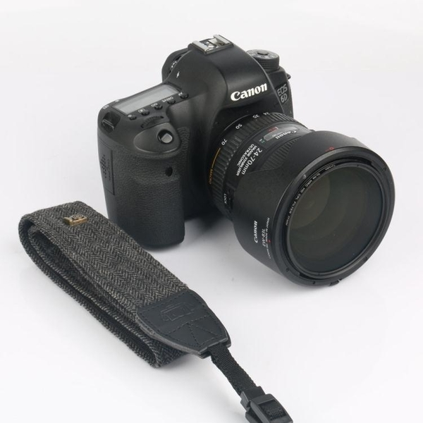 棉質佳能尼康單反數碼照相機背帶徠卡減壓復古微單攝影肩帶 鹿角巷