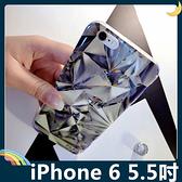 iPhone 6/6s Plus 5.5吋 立體鑽石保護套 軟殼 3D雷射視覺 藍光亮面 超薄全包款 矽膠套 手機套 手機殼